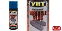 VHT Blue Wrinkle Finish (310ml) - Many older interiors and components were finished with a wrinkle, crinkle or crackle, effect paint. Now you can reproduce the same finish in a few hours from an aerosol spray can. Shop Now: