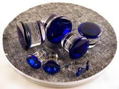 Plugs, gauges, stretched ears Ear Plugs, Gauges, Stretched Lobes, Tunnels And Plugs, Body Modifications, Body Mods, Cufflinks, Accessories, Jewelry