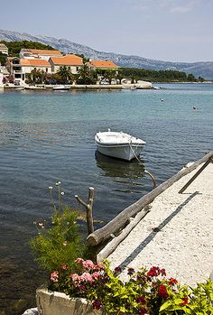 Village of Lumbarda, situated on the Island of Korcula, #Croatia
