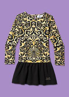 Versace - Stretch Barocco Print Dress