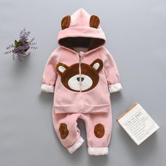 Baby Outfits Newborn, Toddler Outfits, Baby Boy Outfits, Kids Outfits, Cartoon Kids, Bear Cartoon, Costume Ours, Baby Boy Clothing Sets, Children Clothes