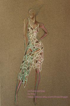 fashion illustration:)https://www.etsy.com/shop/Linggo