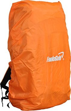 From 6.99:Foolsgold Waterproof Cover For Hiking Backpacks (50l - 120l) - Orange | Shopods.com