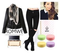 """""""#2/3 Romwe"""" by ahmetovic-mirzeta ❤ liked on Polyvore featuring Givenchy"""