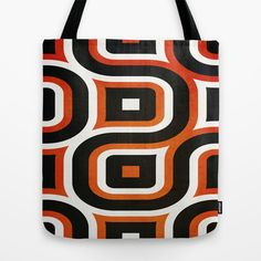 Pattern Brown Tote Bag by Fine2art - $22.00