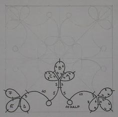 Minták - Pattern #tatting #tatted #tat