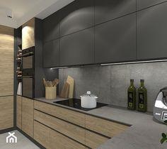 Modern Shaker Kitchen, Contemporary Kitchen Cabinets, Modern Kitchen Interiors, Kitchen Cabinets Decor, Contemporary Kitchen Design, Home Decor Kitchen, Kitchen Pantry Design, Interior Design Kitchen, Cuisines Design