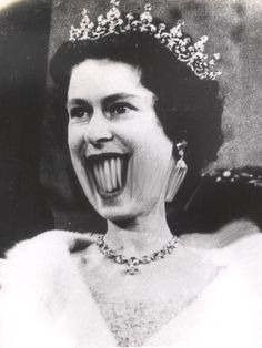 Her Majesty, what happened?