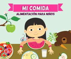 Mi comida – alimentación para niños y también para adultos