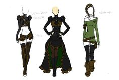 Fashion and Action: Steampunk Couture by Kato - Select Summer/Fall Collection