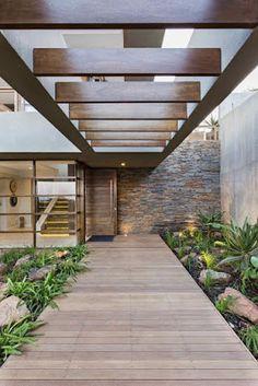 Feng Shui, Garden Design Plans, Vegetable Garden Design, Beautiful Architecture, Landscape Architecture, Small Garden Arbour, Outdoor Pergola, Outdoor Decor, Modern Wooden House
