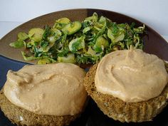 Applesauce 1-minute muffin