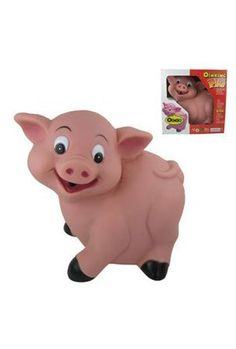 """Battery Operated Oinking Pig with Motion Sensor by Handhelditems. $21.99. 8.25"""" battery operated pig with motion sensor. This adorable oinking pig greets everyone who approaches."""
