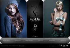 Model Agency HTML5 Template 300111307 by Dynamic Template