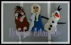 Marionetas Frozen