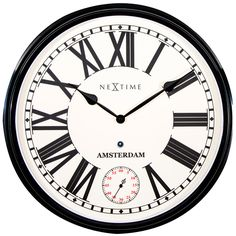 Nextime Amsterdam Wall Clock - Large