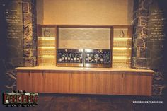 FireRock Lounge | The Westin Resort & Spa, Whistler.  Enomatic wine dispenser.