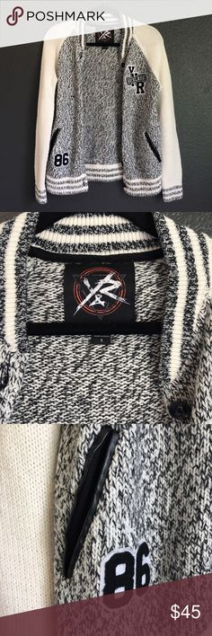 young and reckless cardigan athletic style cardigan, barely worn, brand new condition Young & Reckless Sweaters Cardigans