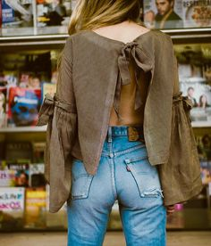 cool blouse (but not with those jeans)