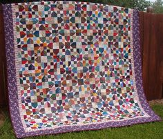 """""""Oklahoma Backroads"""" quilt pattern by Bonnie Hunter of Quiltville.com"""