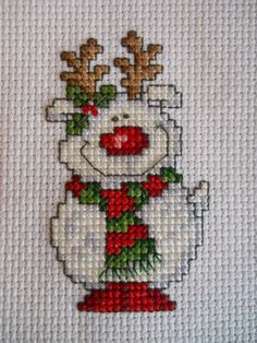 After being so organized with the mini madness month finishes during October, No. - After being so organized with the mini madness month finishes during October, November just seems t - Cross Stitch Christmas Ornaments, Xmas Cross Stitch, Cross Stitch Art, Simple Cross Stitch, Christmas Embroidery, Cross Stitch Designs, Cross Stitching, Cross Stitch Embroidery, Hand Embroidery
