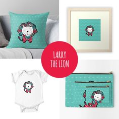 DIY Larry the Lion gifts & products to match our printables and invitations