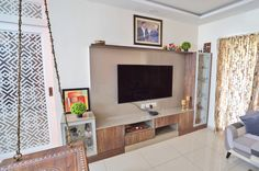 HomeLane: Full Home Interior Design Solutions, Get Instant Quotes. Beautiful Houses Interior, Beautiful Interiors, Entertainment Units, Tv Unit Design, Wardrobe Storage, Free Interior Design, Wardrobe Design, Living Room Designs, Home Goods
