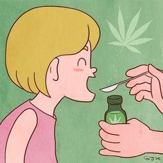 Estos niños curaron su epilepsia con aceite... de marihuana
