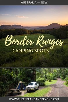 The Border Ranges on the Scenic Rim between Queensland and New South Wales is a picturesque spot with lookouts, waterfalls and walks. It's ideal camping base. Here's what you need to know about camping at the Border Ranges. 🌐 Queensland & Beyond #camping #NSW #Australia #tips