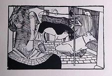 Gerhard MARCKS  Holzschnitte II, a set of 12 reproduction woodcut prints
