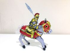 Knight-RM50 | The Tinmen-online vintage tin toy store