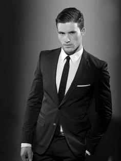 Wonder if I could get Matt to rock the skinny tie?  Arthur Keller. Men's Suit