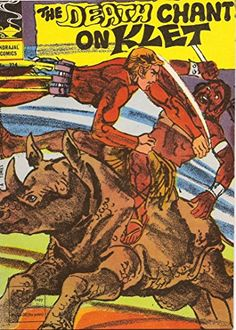 Indrajal Comics-324: Flash Gordon:The Death Chant On Klet (1979)