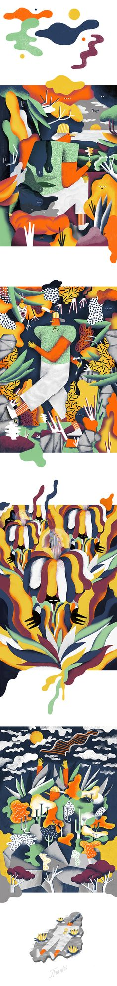 Short story about Tim, by Poland illustrator, Karol Banach Illustration Story, Character Illustration, Graphic Design Illustration, Textile Pattern Design, Arte Popular, Illustrations And Posters, Graphic Design Typography, Designs To Draw, Easy Drawings