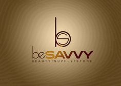 Custom Logo development for Be Savvy Beauty Supply Store in Independence, Missouri....contact 816-217-0062 for more info.