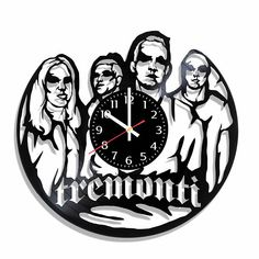 Tremonti band design wall clock Tremonti wall poster