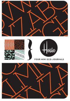 House Industries Mini Eco-Journals: Four Mini Eco-Journal…