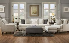 Franklin Furniture - Monty 5 Piece Living Room Set - 864-5SET-MONTY