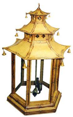 great pagoda lamp lumin light, light fixtures, design chinoiseri, pagoda lantern, pagoda lamp, lightinglampsshad, light ii