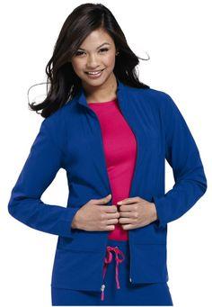 cc361a159d6 scrub coat Scrub Jackets, Biker Chic, Scrubs, Nursing, Zip, Breastfeeding,