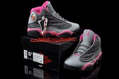 Air Jordan 13 XIII Women Shoes in Grey and Pink for Sale - $79.99