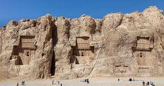 Naqsh-i Rustam - Incredible Reliefs of Persian Empires