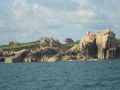 La maison Haraucourt vue de la mer