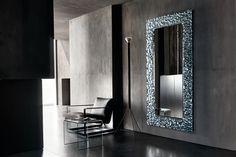 Fiam Italia Venus Wall Mirror Flat Glass 6Wx96Hx201CM / Free Delivery at www.mayfairhomefurniture.com