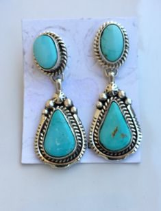This lovely Royston Squash necklace is a must have for any collector! This necklace comes with earrings as well. This lovely Royston Squash necklace is a must have for any collector! This necklace comes with earrings as well. Cute Jewelry, Vintage Jewelry, Jewelry Accessories, Turquoise Gemstone, Turquoise Earrings, Bohemian Jewelry, Indian Jewelry, Cowgirl Bling, Sterling Silver Jewelry