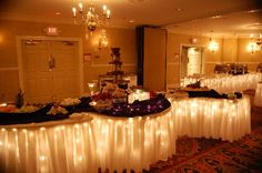 More Buffet Tables