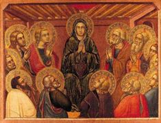 Pentecost  about 1360-83 ☩
