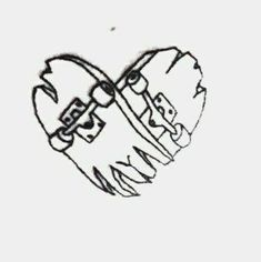 Black Tattoos, Small Tattoos, Tattoos For Guys, Skater Tattoos, Skateboard Tattoo, Herz Tattoo, Tattoo Portfolio, Tattoo Designs For Women, Body Art