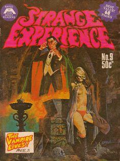 Cover for Strange Experience (Gredown, 1975 series) #9