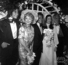 The wedding of Lucie Arnaz's and Phil Vandervort on July 17, 1971.